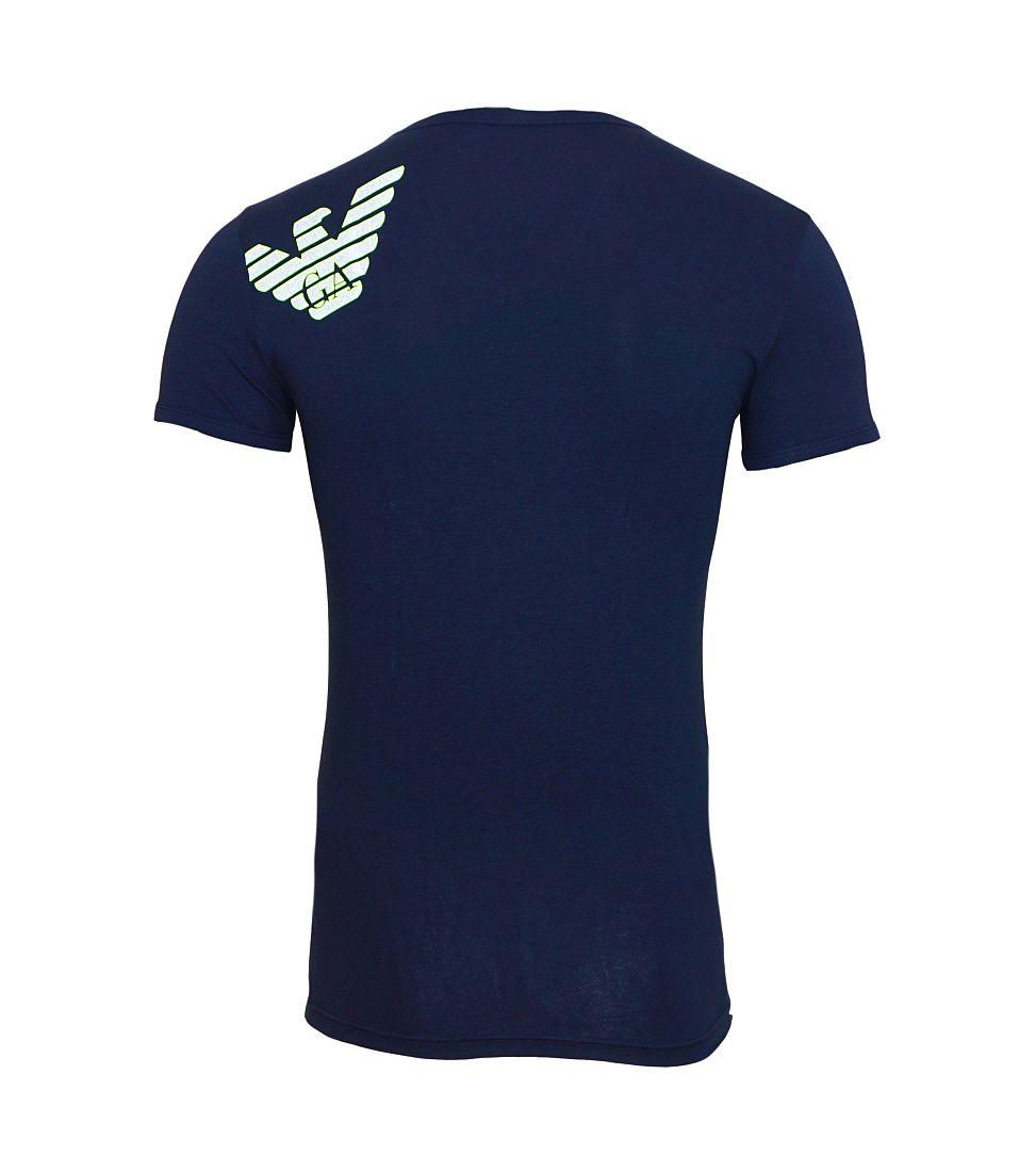 Emporio Armani Shirt T-Shirt navy KNIT T-SHIRT 110810 6A725 00135 Marine HW16A1