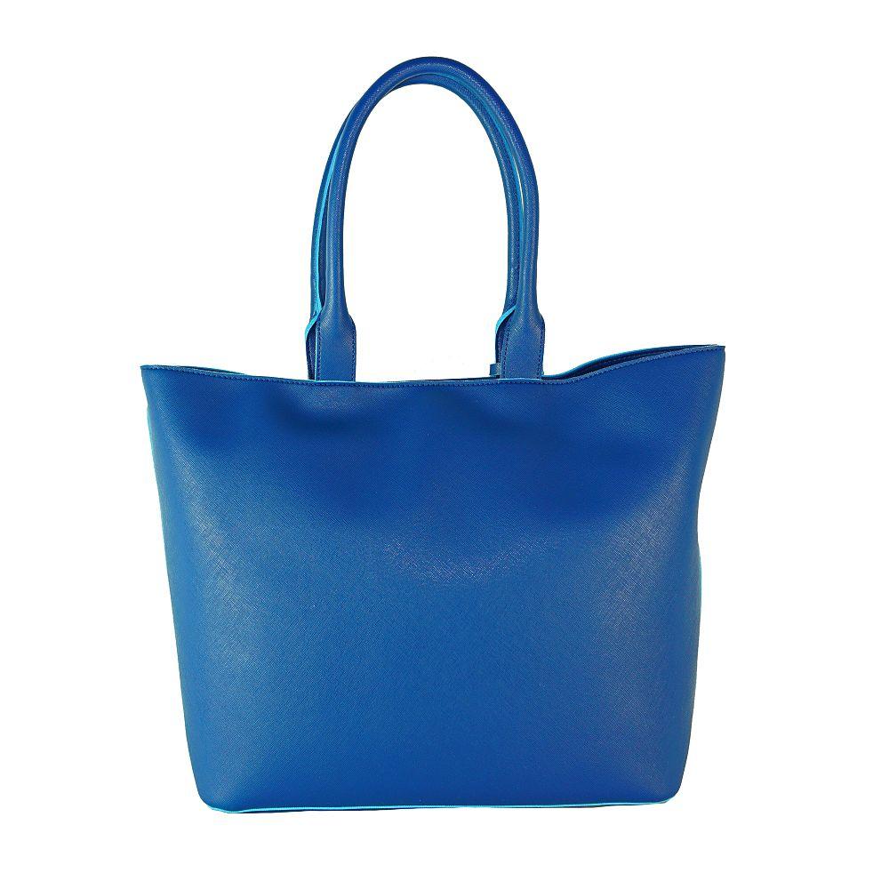 Armani Jeans Tasche Bosra Shopping 922535 CC856 09934 Ocean Blu Handtasche S17-AJT1