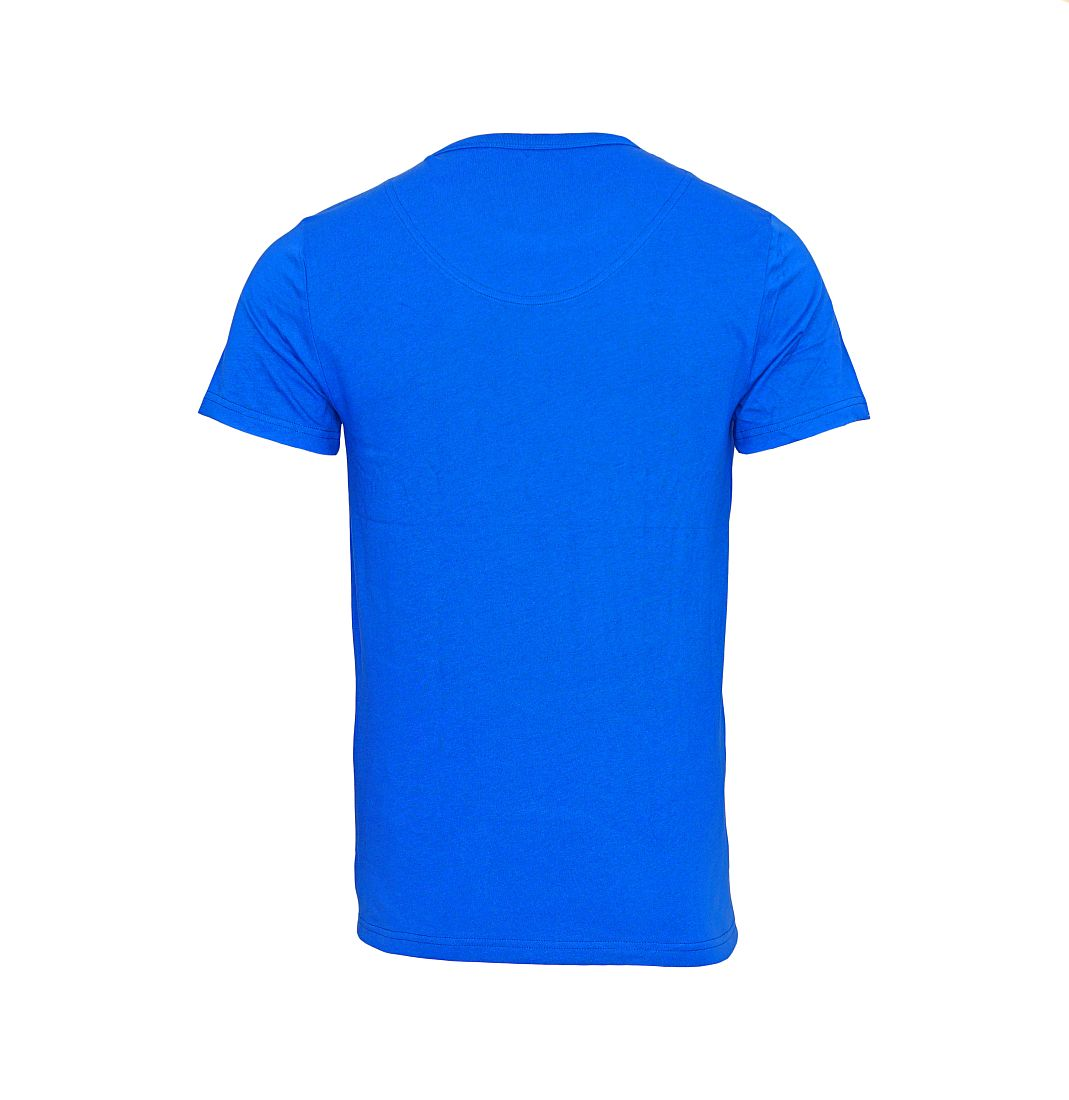 EMPORIO ARMANI T-Shirt Shirt Rundhals 110853 6A508 10233 BLU ELETTRICO HW16