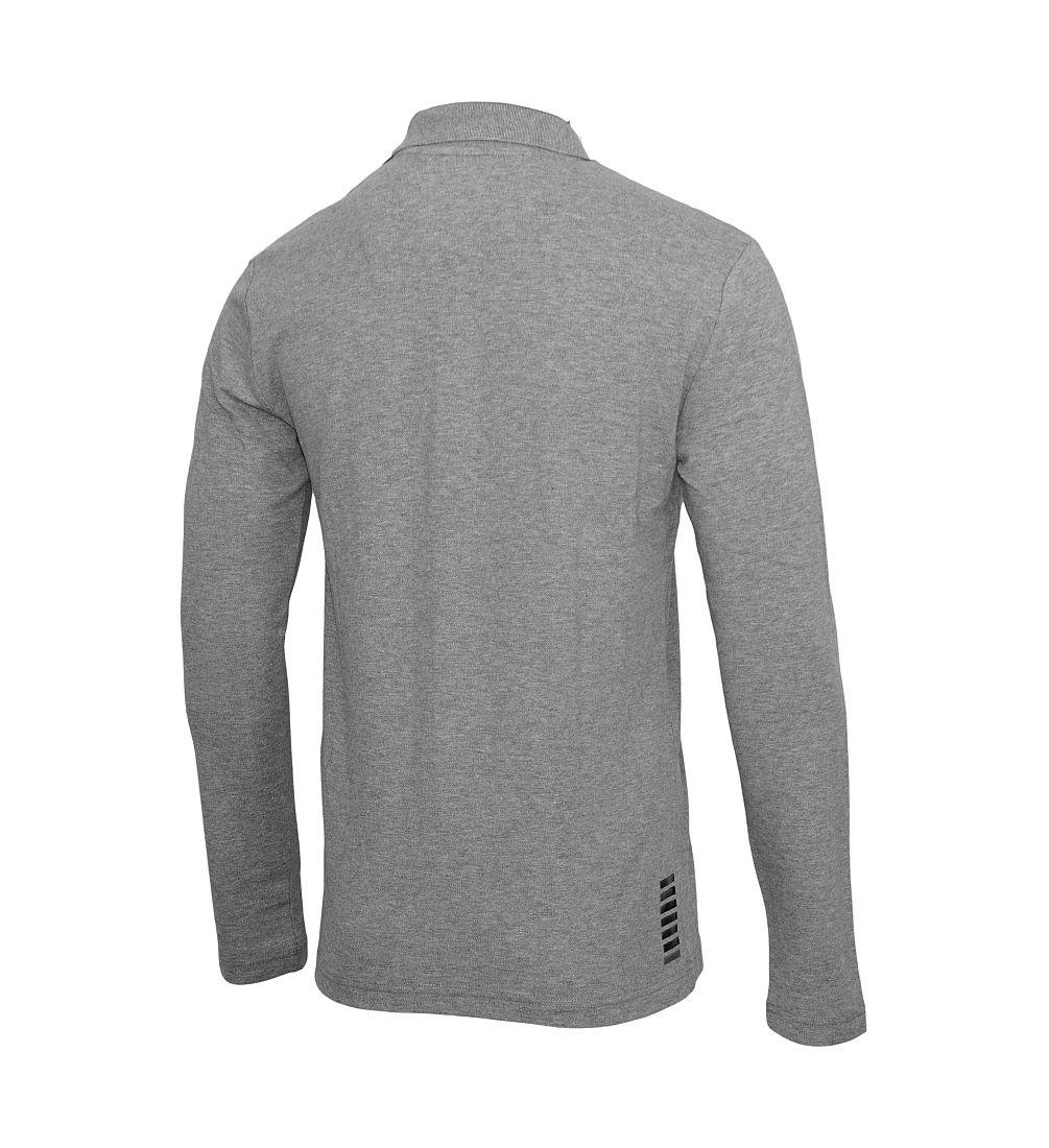EMPORIO ARMANI EA7 Poloshirt Longsleeve 6XPF53 PJ04Z 3905 grigio melan HW16