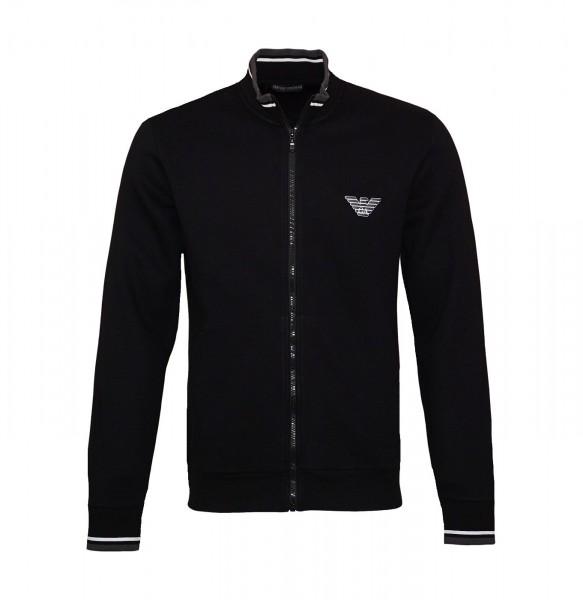 Emporio Armani Sweater Zipper 111532 9A571 00020 black SH19-EAX3