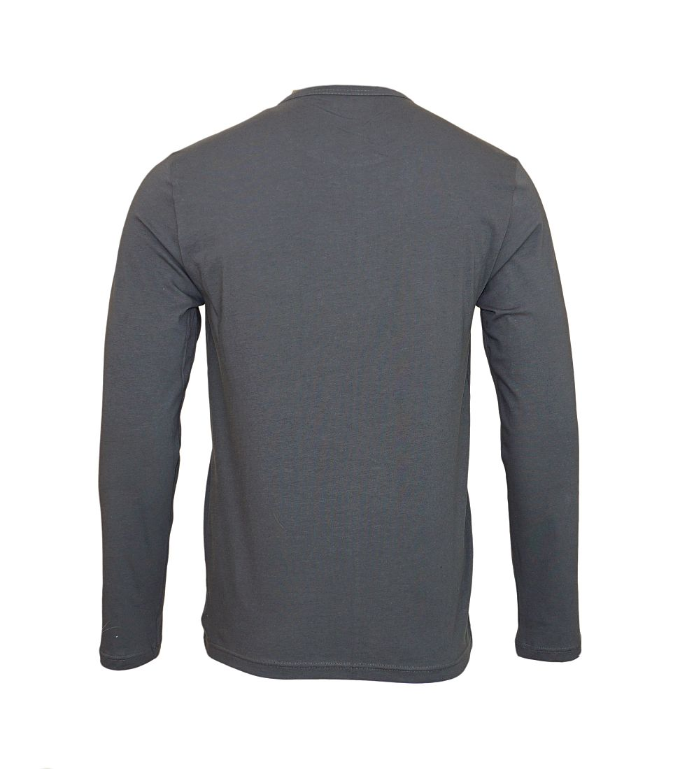 Emporio Armani Longsleeve Shirt Rundhals 111653 7A717 08444 FUMO SH17-EALS1