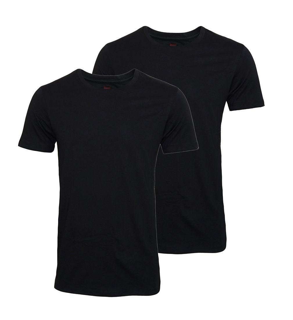 LEVIS Shirts 200SF 2er Pack T-Shirt Jet Black 945003001 884 020 SF17-LVSS1