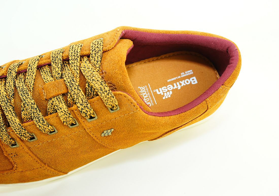 Boxfresh Schnürschuhe Schuhe Spencer SH WXD SDE E-14792 Tan Mar Sneaker SH17-BFS1