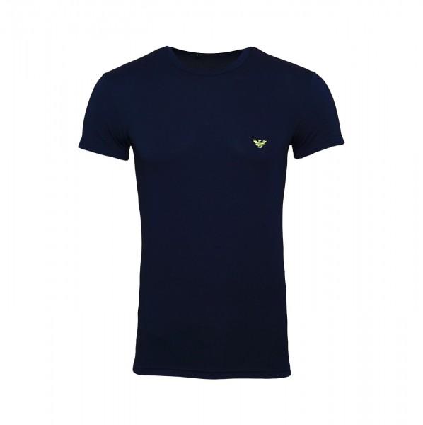 Emporio Armani T-Shirt Rundhals 111035 9P723 000135 navy FS19-EAT1