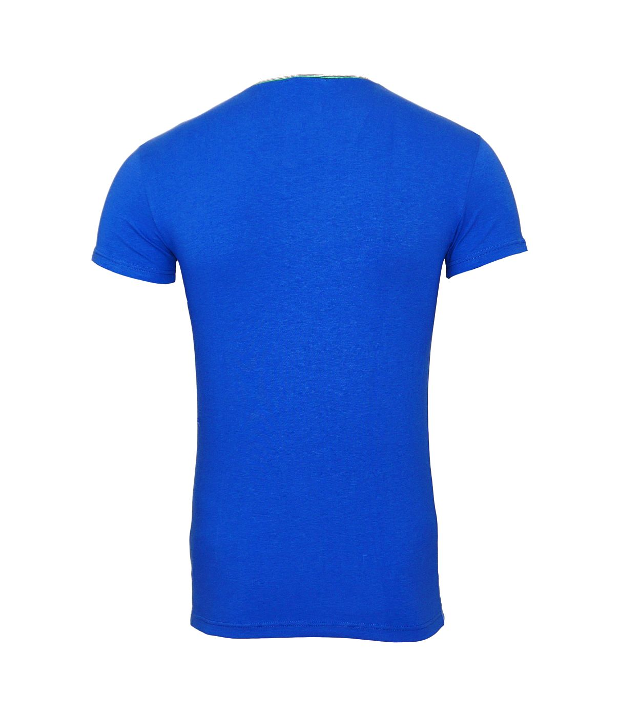 Emporio Armani T-Shirts V-Ausschnitt 110810 8A510 23233 MAZARINE SH18-EAT2