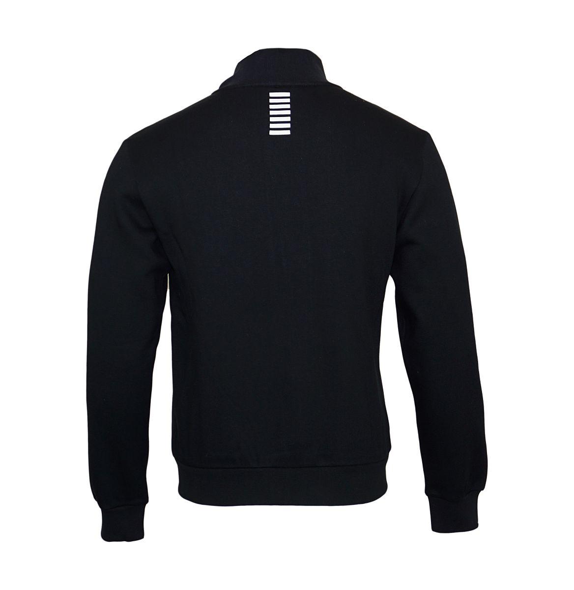 EA7 Emporio Armani Sweatshirt Trainingsjacke 6YPM55 PJ07Z 1200 Black HW17-EATJ1