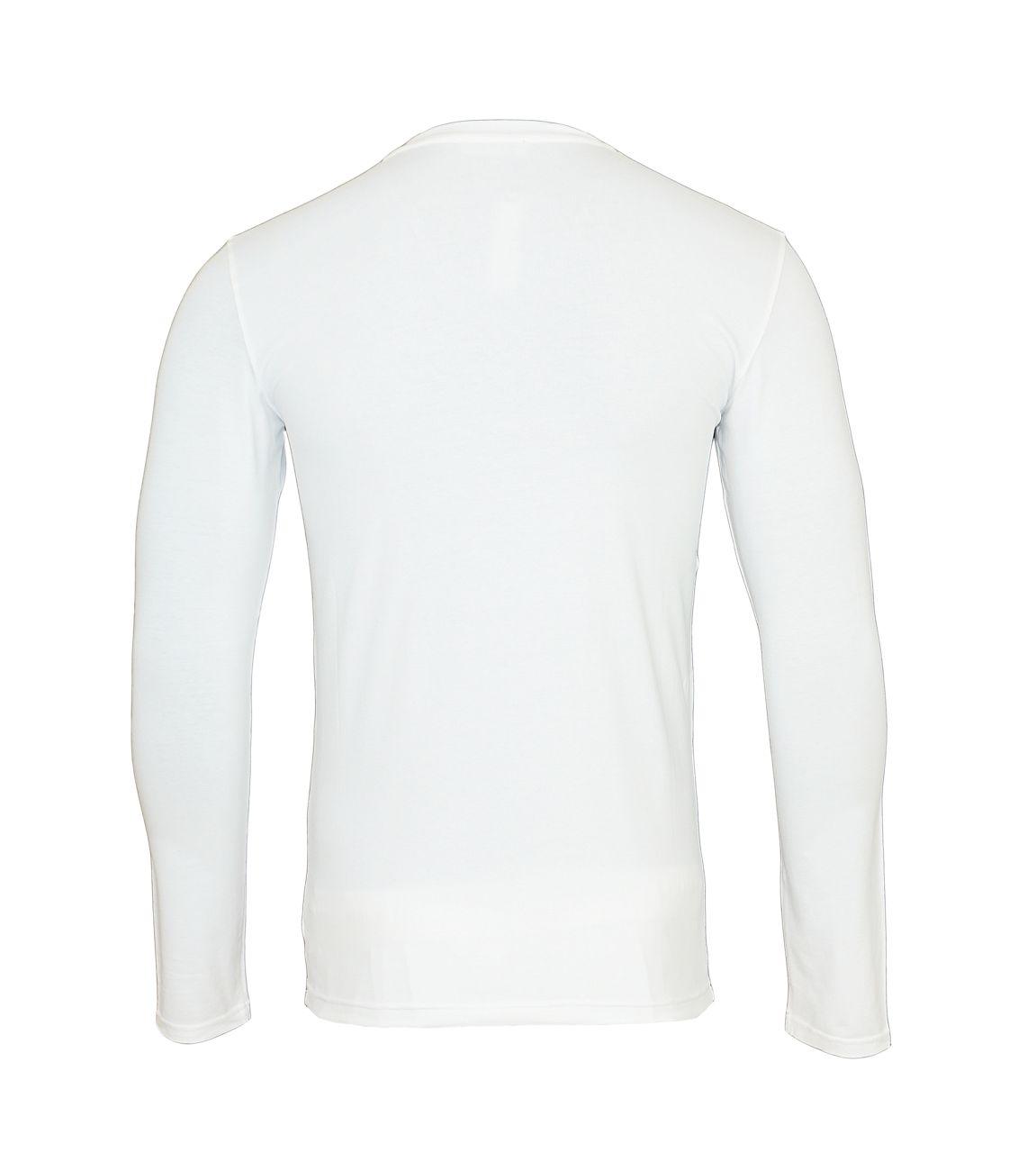 Emporio Armani Longsleeve Rundhals Shirt 111023 8A512 00010 BIANCO WX18-EAL