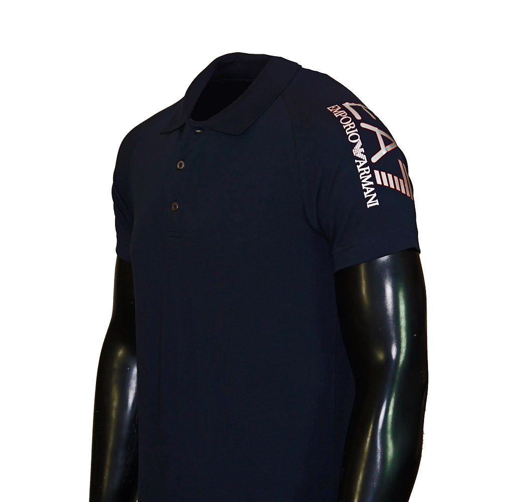 EA7 EMPORIO ARMANI Shirt T-Shirt Poloshirt TRAIN VISIBILITY M T navy 277010 6P209 02836