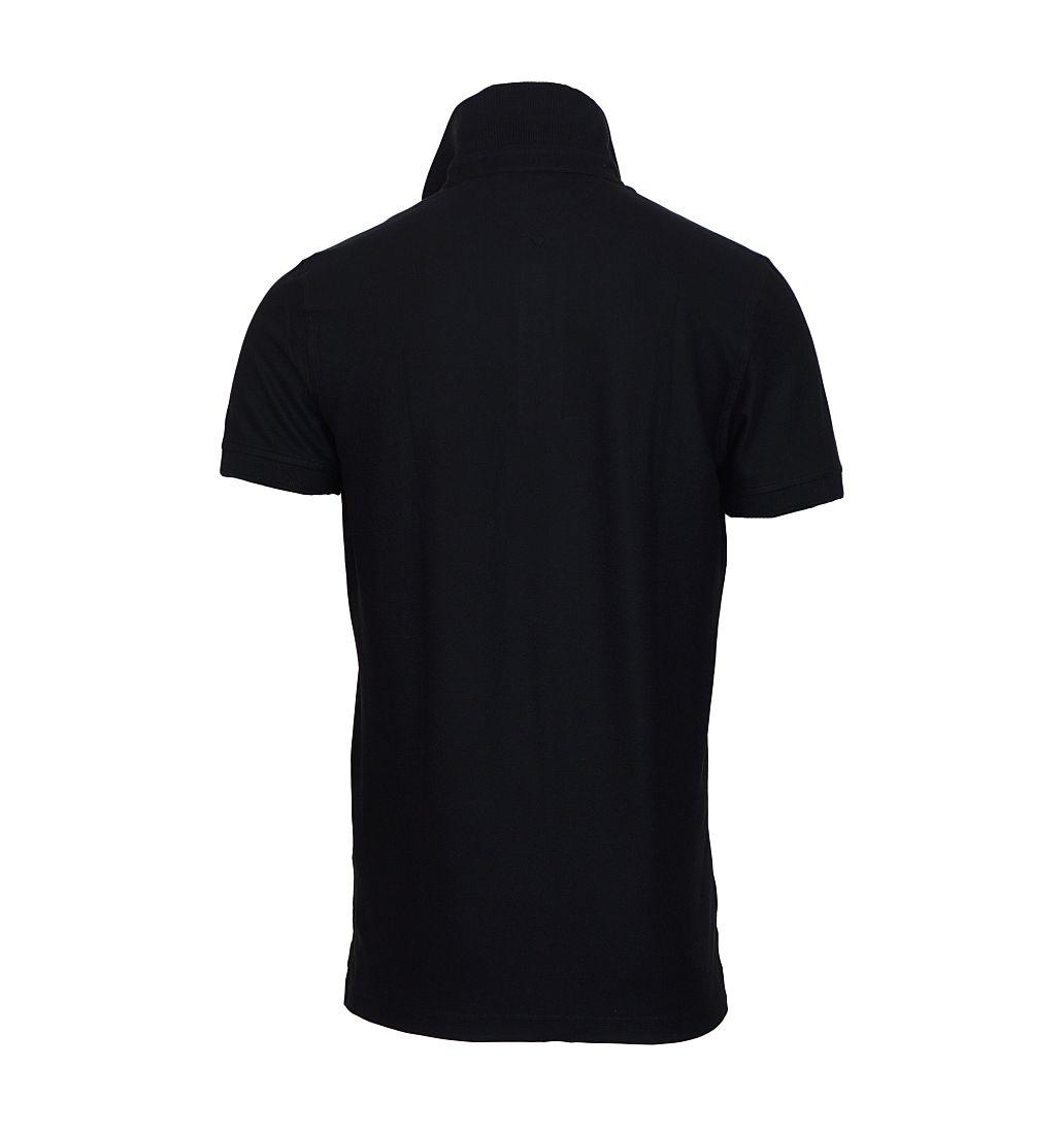 TOMMY HILFIGER Shirt Polohemd Poloshirt Polo schwarz 0867878433 060 TH16