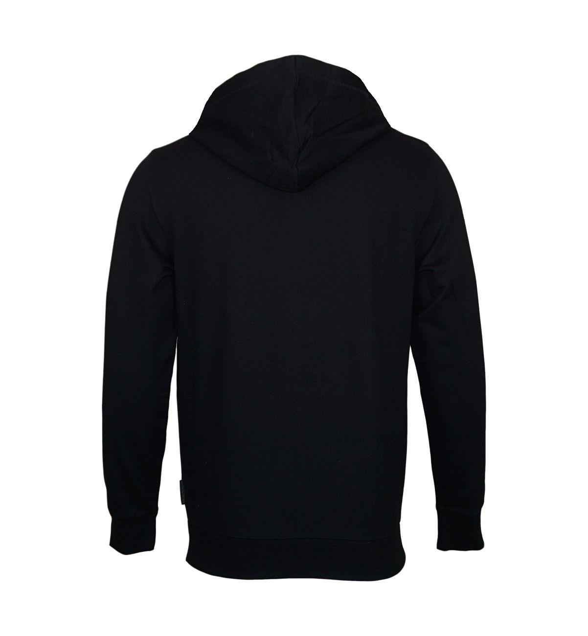 Emporio Armani Sweater Hooded m. Kapuze 111753 8P571 00020 NERO F18-EAS1