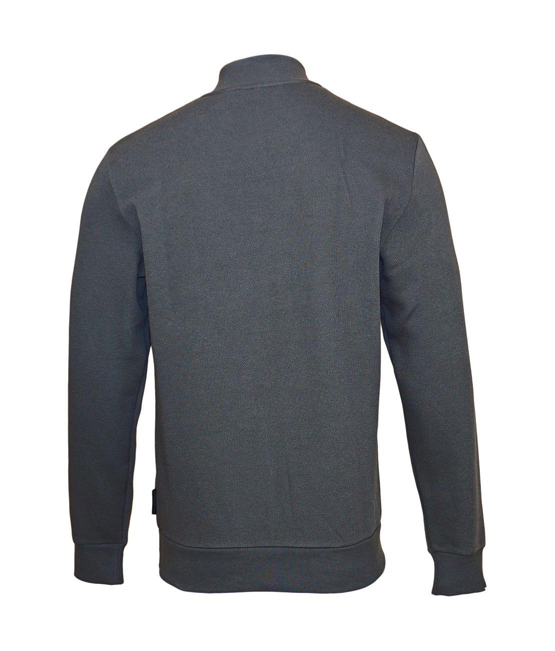 Emporio Armani Pullover Sweater Zip 111704 8A575 00044 ANTRACITE WX18-EAS