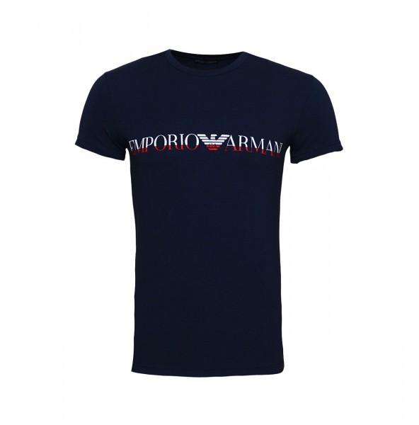 Emporio Armani T-Shirt Crew-Neck 111035 9A516 00135 marine SH19-EAX1