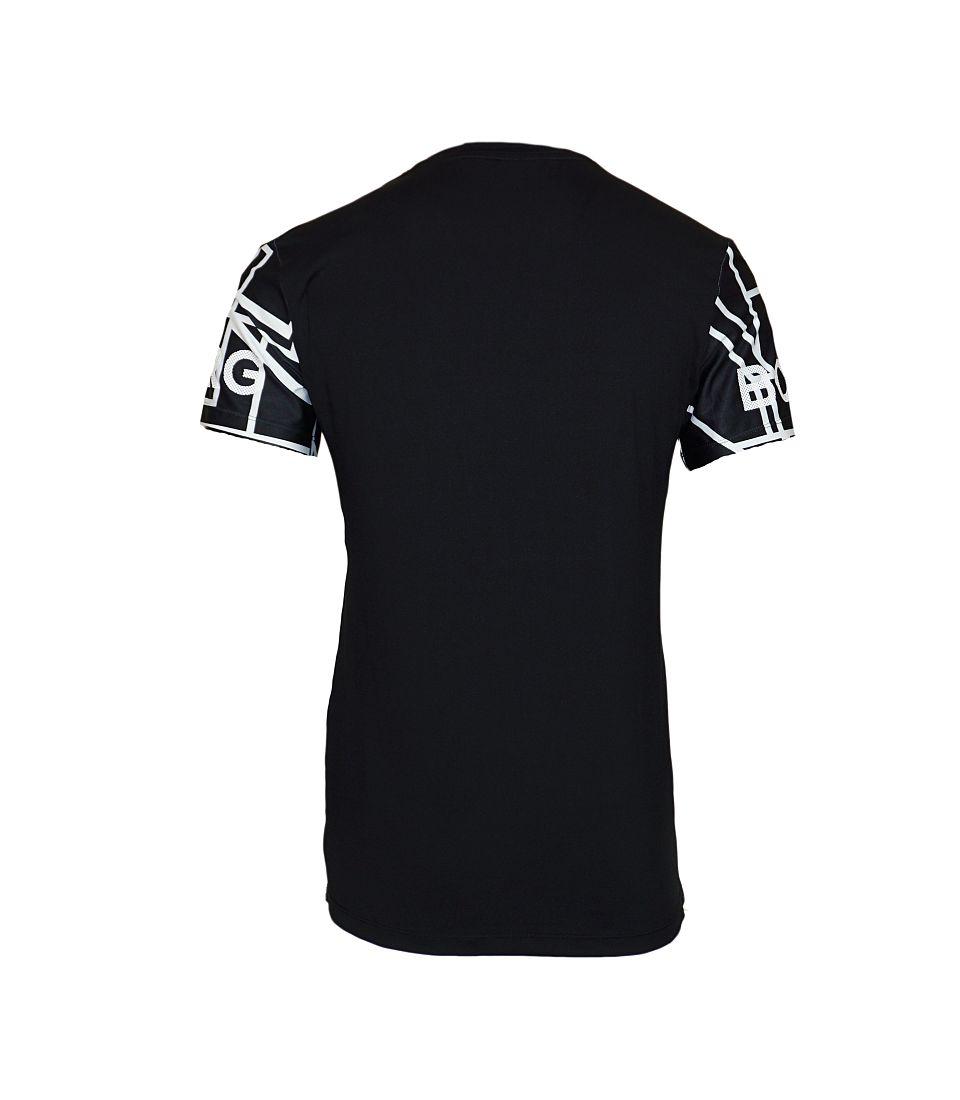 Björn Borg T-Shirt Palmer SS Tee 1721 1371 90012 Black S17-BJBT1