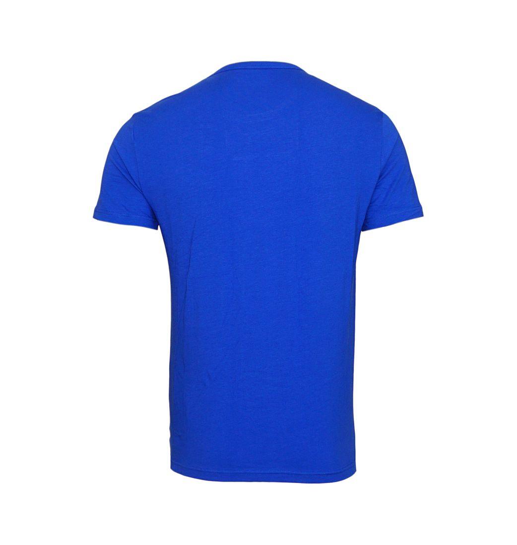 Emporio Armani 2er Pack T-Shirts Rundhals 111267 7A717 39920 NERO/BLU ELETTRICO SH17-EA2PT