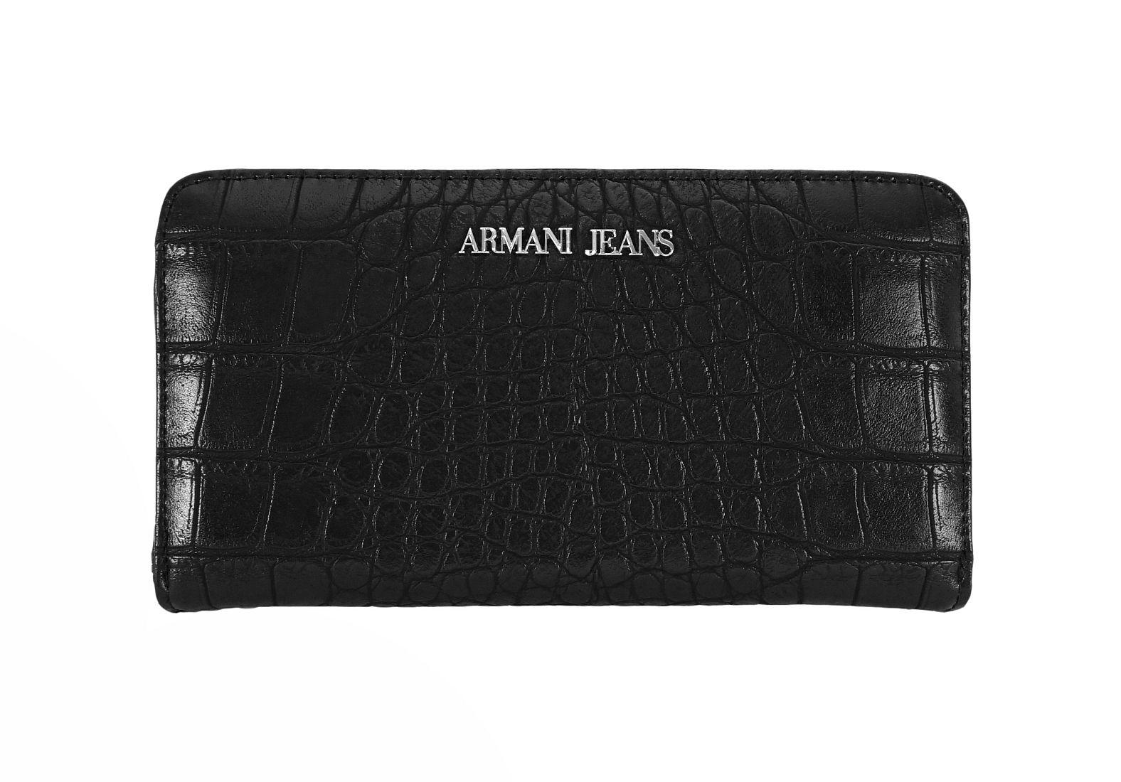 Armani Jeans Geldbörse Börse 928032 6A711 00020 nero HW16