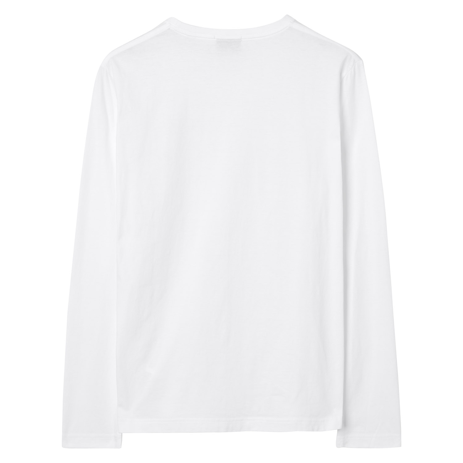 Gant Pullover THE ORIGINAL LS T-SHIRT Rundhals 234502 WHITE SH18-GP3