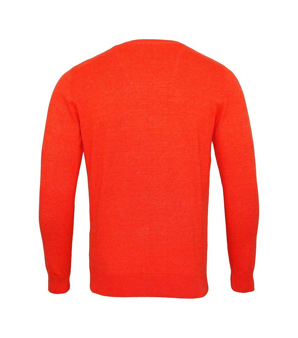 Tom Tailor Pullover Sweater Strickpullover Rundhals guava red melang 3021322 0910 4754 WF17-J1