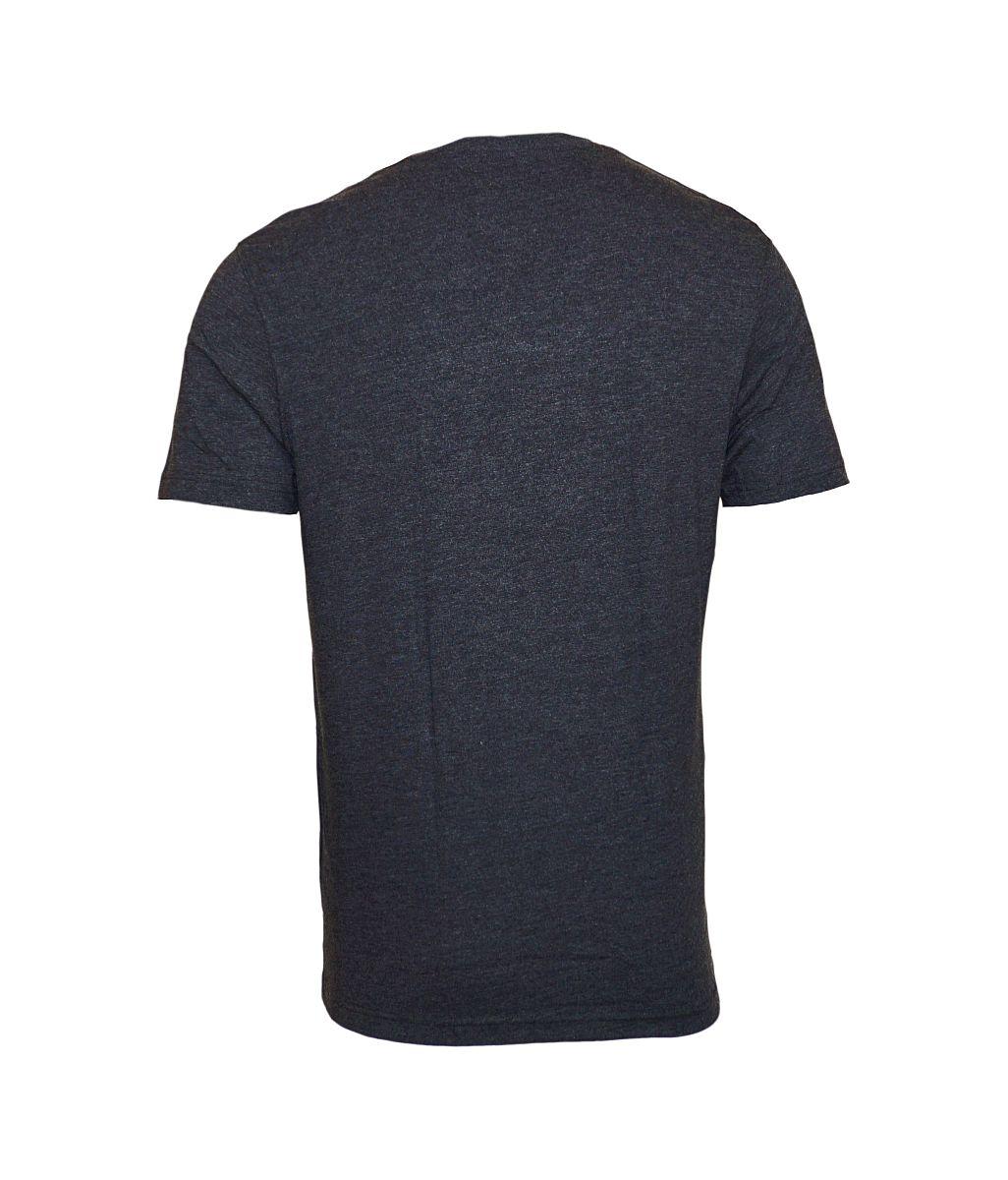 Daniel Hechter 2er Pack T-Shirts V-Ausschnitt 76002 172972 970 anthrazit melange SH17-DH2P