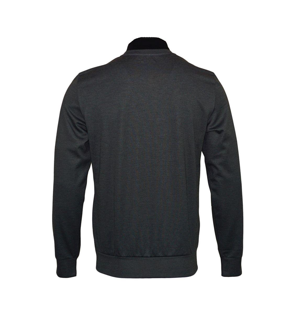 Emporio Armani Pullover Rundhals Sweater 111437 7A561 50920 NERO/CEMENTO HW17-EAS1