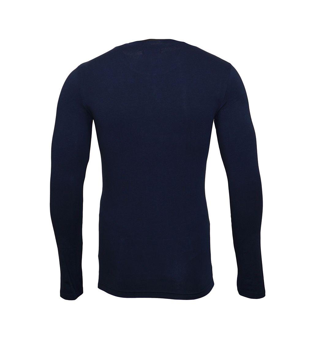 Emporio Armani Longsleeve Shirt Rundhals 111023 7A512 00135 MARINE SH17-EALS1