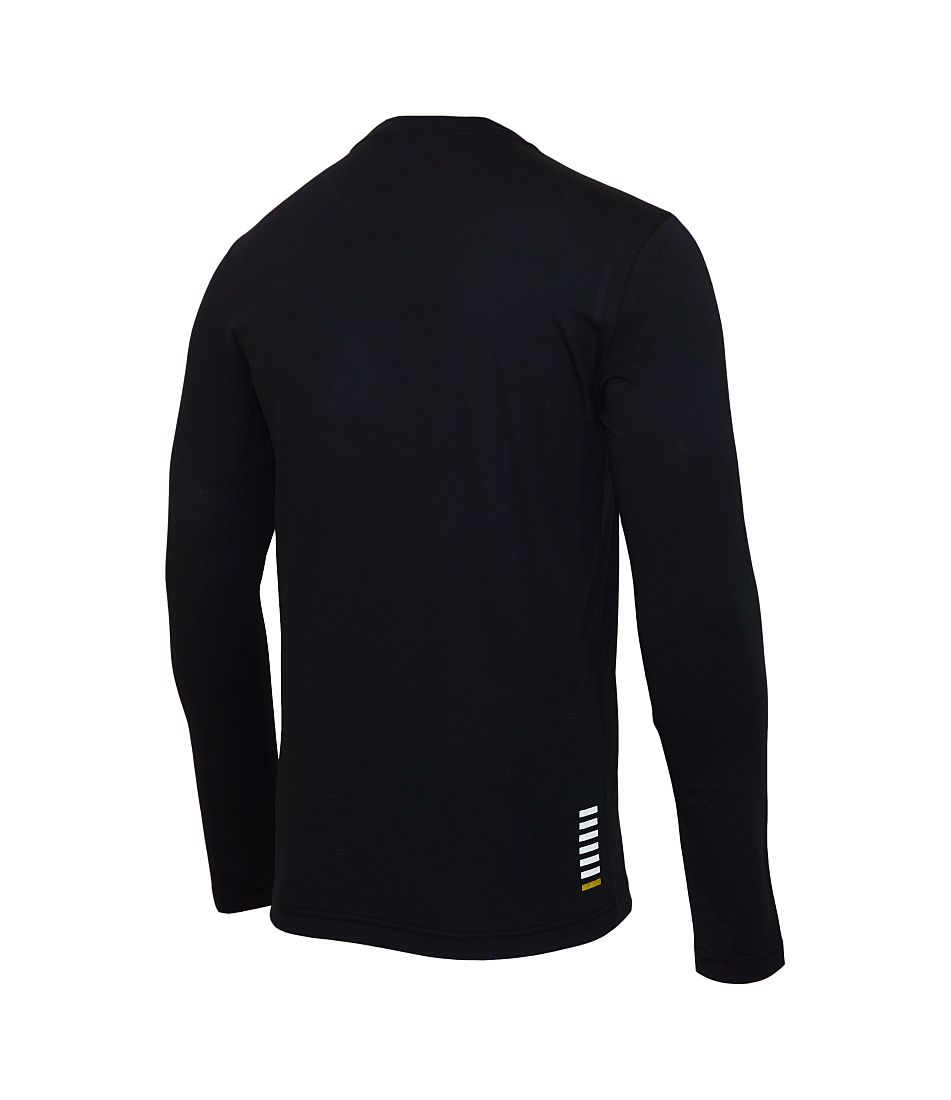 EA7 EMPORIO ARMANI Longsleeve Shirt schwarz 6XPT54 PJ02Z 1200 Nero HW16