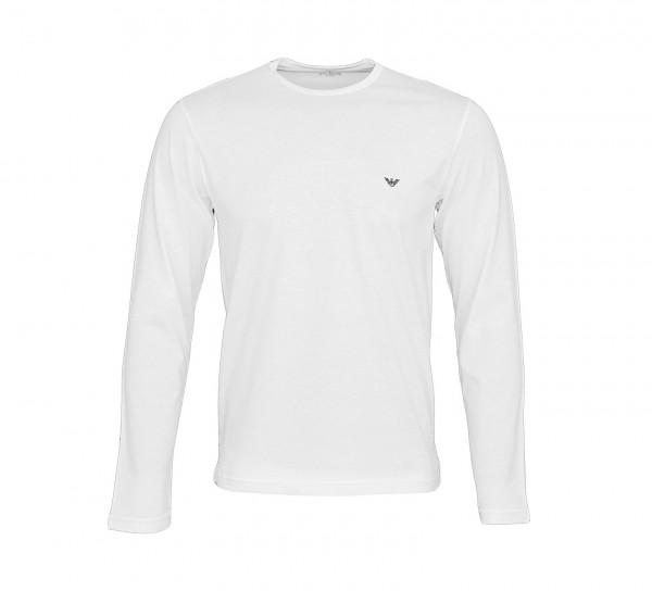 Emporio Armani Longsleeve Shirt 111653 9P722 00010 weiss SS19-EAL1