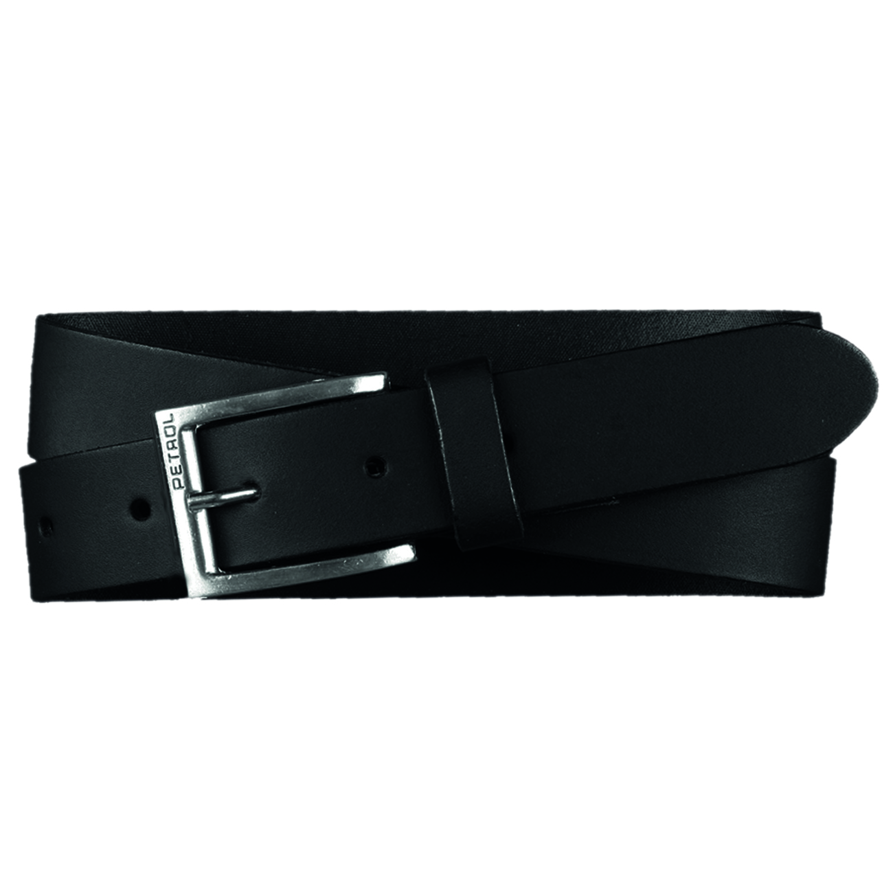 PETROL Industries Ledergürtel Leder Gürtel schwarz PE16 35350 black