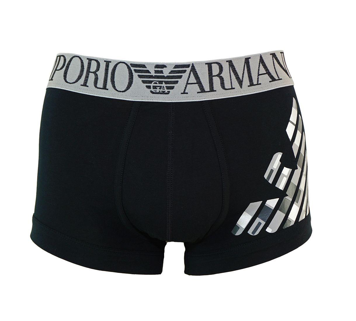Emporio Armani Trunk Shorts Unterhose NERO 111866 7P745 00020 WF17-EAT1