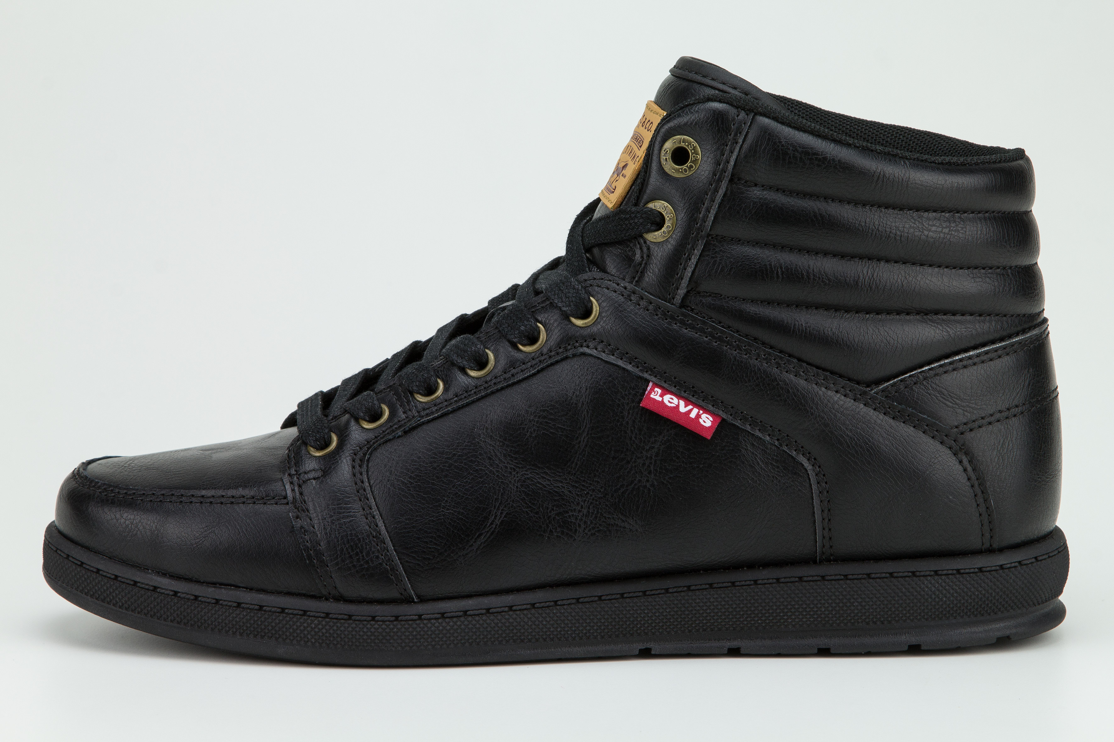 low priced 1a89f 4cce1 Levis Schuhe Boots VANCE MARSHALL PERF 228005 1794 60 schwarz SH18-LB1