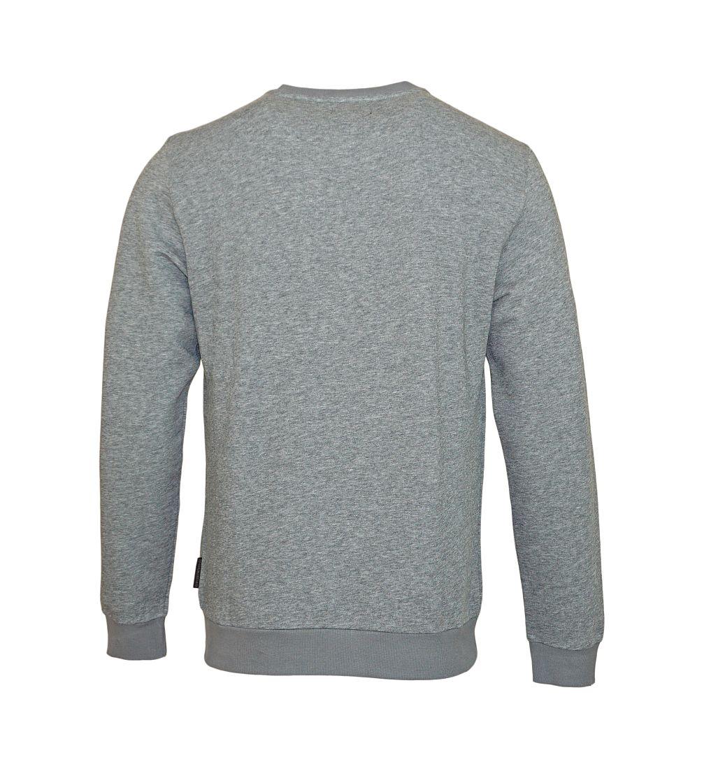Emporio Armani Pullover Sweater Rundhals 111720 7A571 06749 GRIGIO MELANGE SCURO SH17-EASW1