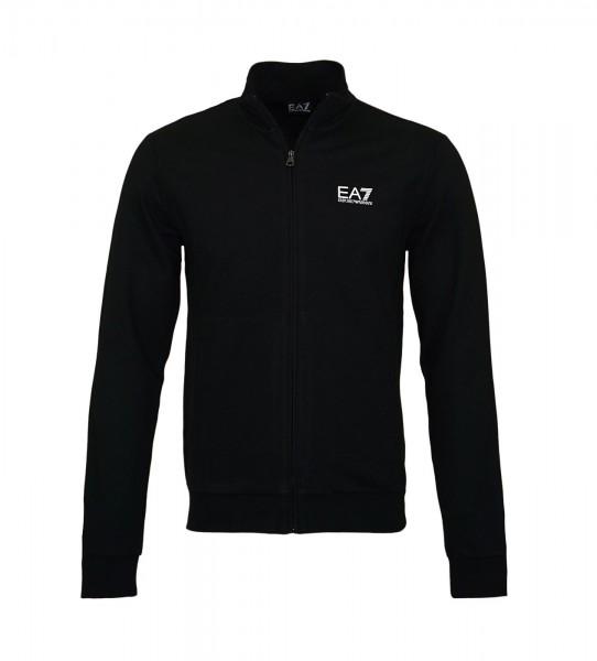 EA7 Emporio Armani Zipper Sweater 8NPM01 PJ05Z 1200 Black HW19-EAL3