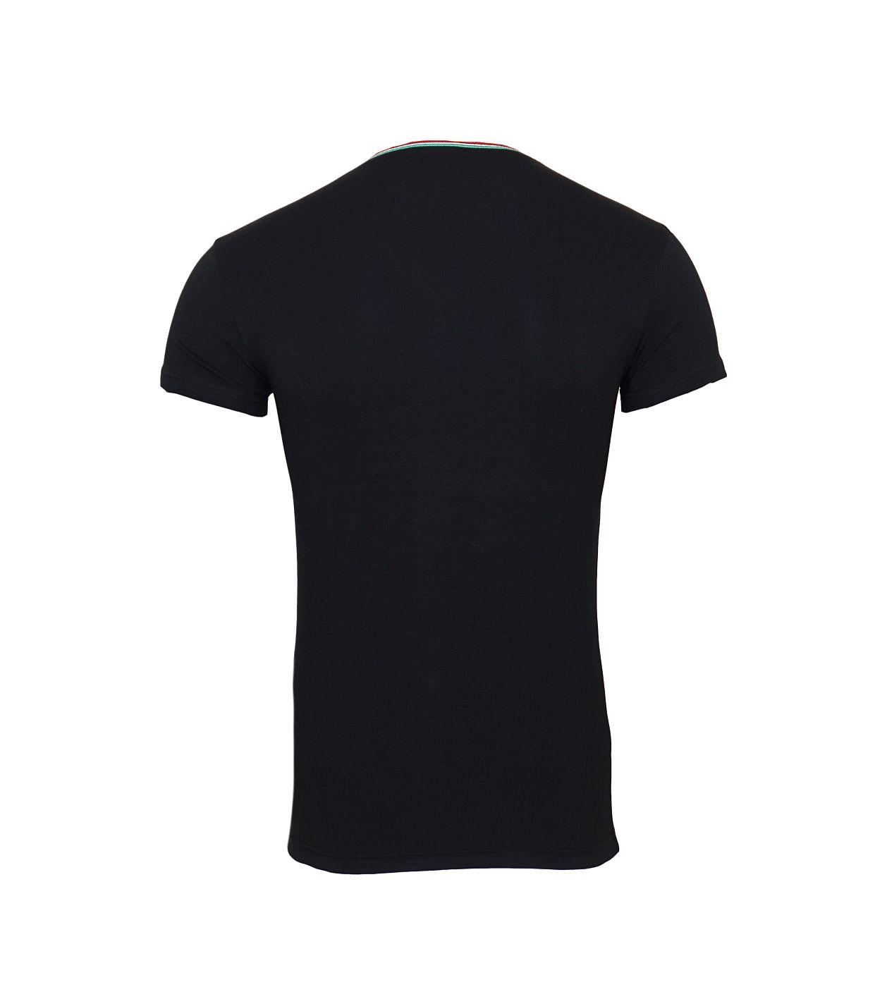 Emporio Armani T-Shirts V-Ausschnitt 110810 8A510 00020 NERO SH18-EAT2