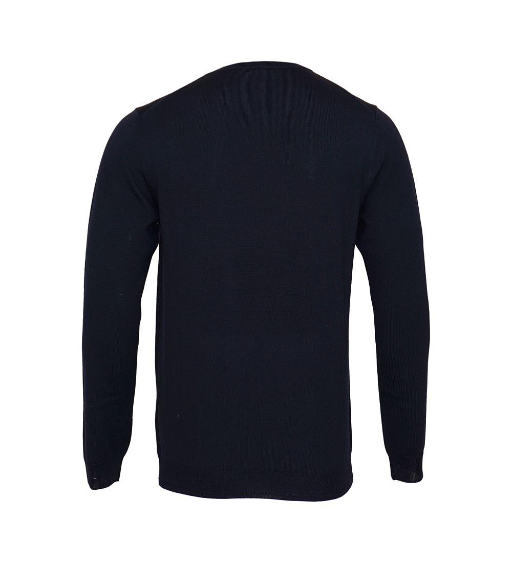 JOOP Strickpullover Pullover Denny Rundhals 10001600 405 navy S17-JOP1