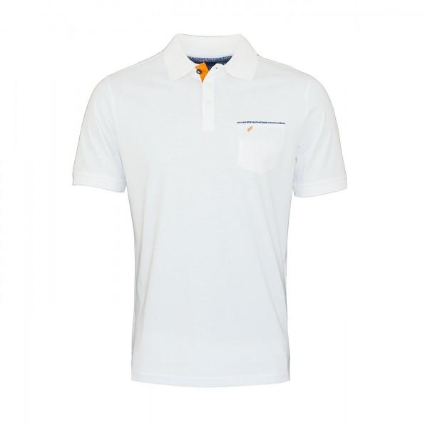 Daniel Hechter Polo Poloshirt 75022 191914 10 White FS19-DHP2