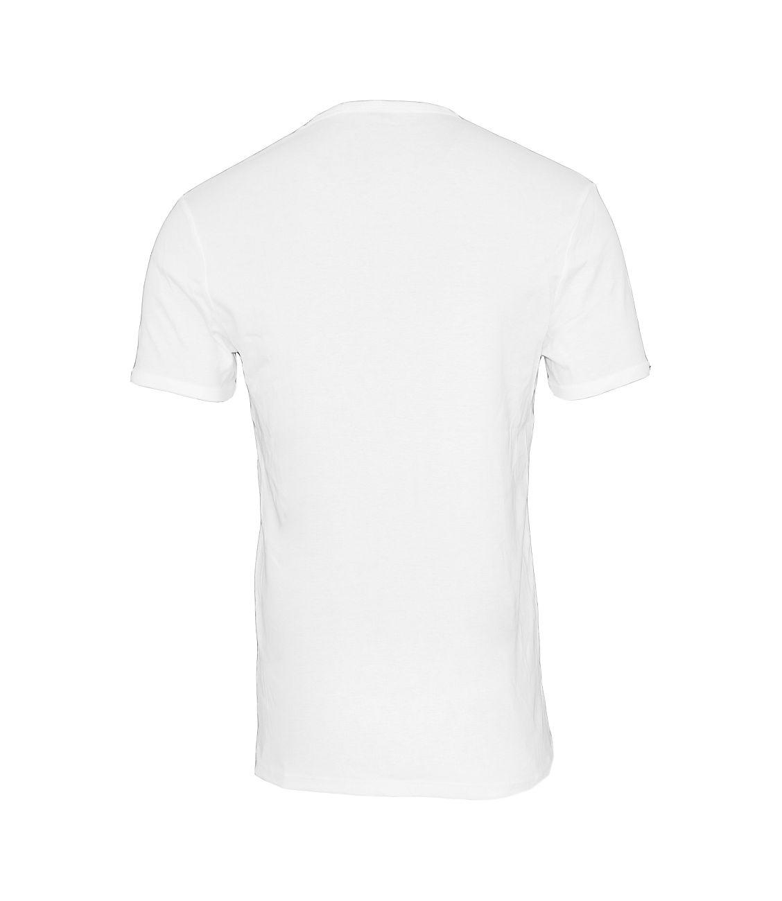G-Star RAW 2er Pack T-Shirt Slim Fit V-Ausschnitt D07207-124-110 White F18-GSP1