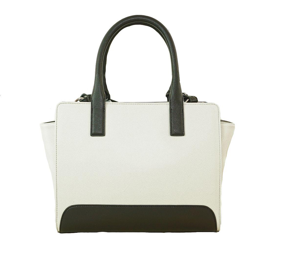 Armani Jeans Tasche Handtasche f. Damen C5250 R4 10 Bianco HW16