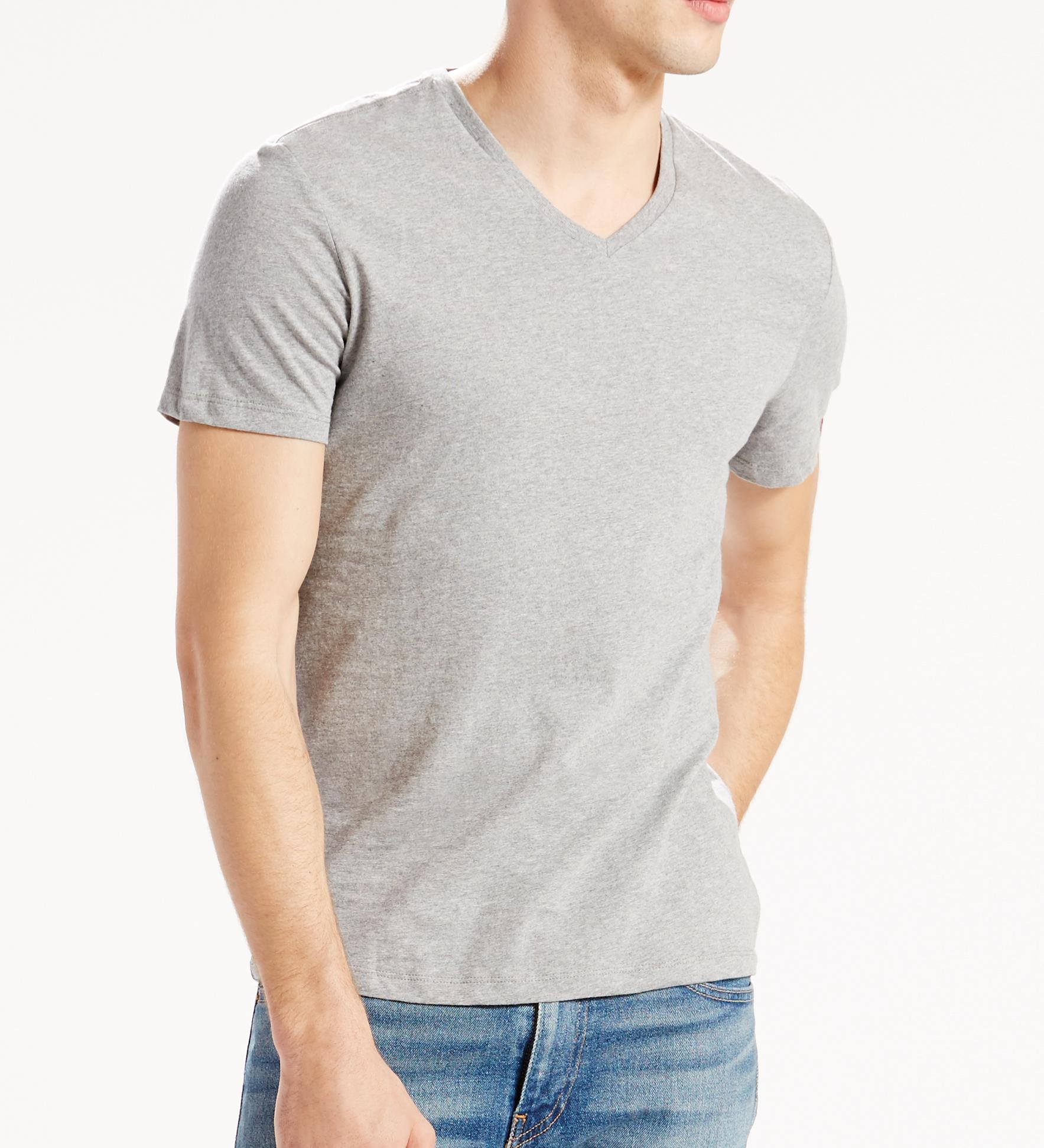LEVIS 2er Pack Shirts V-Ausschnitt T-Shirt 82983-0006 W18-LVT1