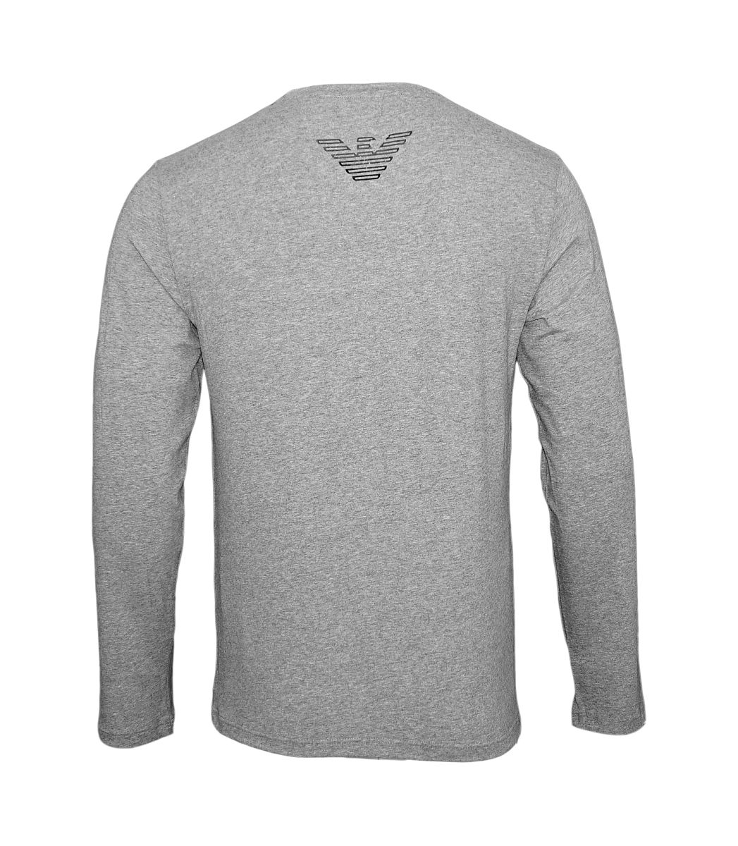 Emporio Armani Longsleeve Sweater Rundhals 111653 7A595 06749 GRIGIO MELANGE SCURO HW17-AS1
