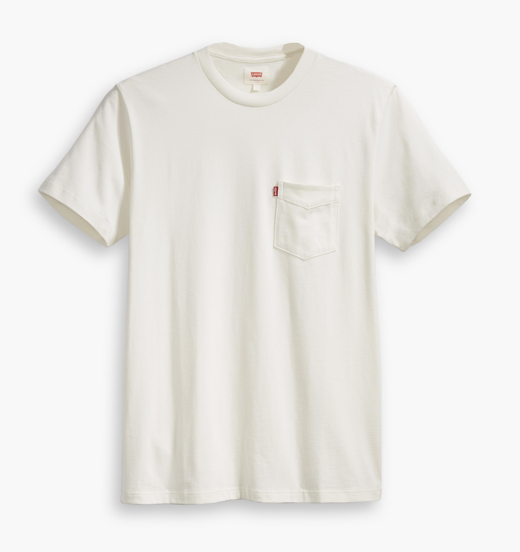 LEVIS Shirts Rundhals T-Shirt 29813-0010 weiß W18-LVT1