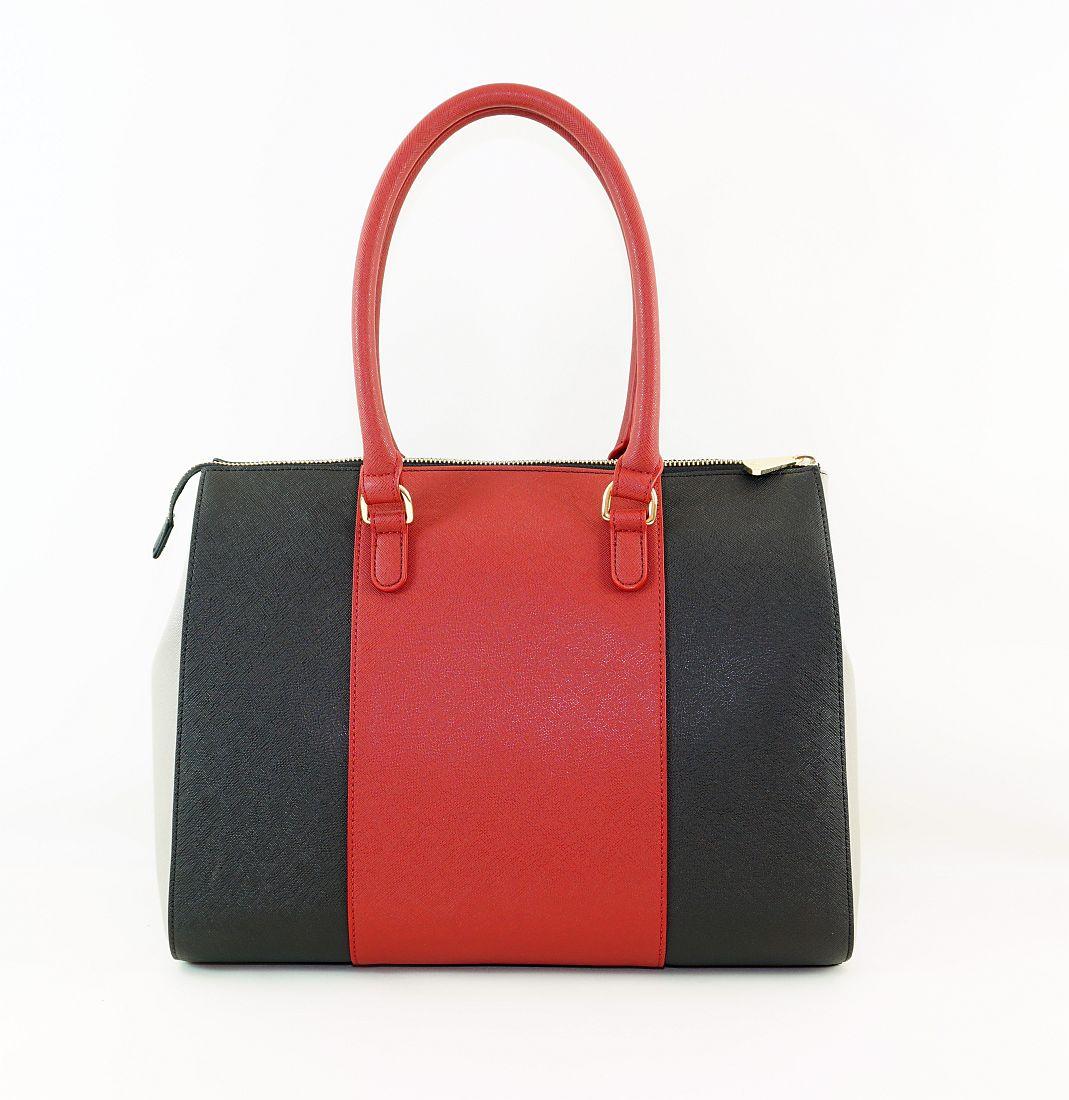 Armani Jeans Handtasche Shopper Tasche WOMEN'S SHOPPING BAG 922574 CC857 07276 Burgundy Nero HW16-1