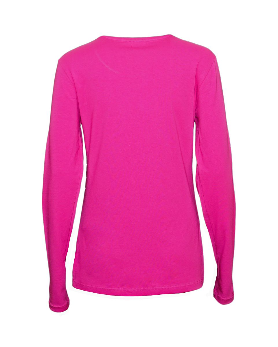 Emporio Armani Damen Shirt Longsleeve Rundhals 163229 7A317 03191 ORCHIDEA HW17-EADL