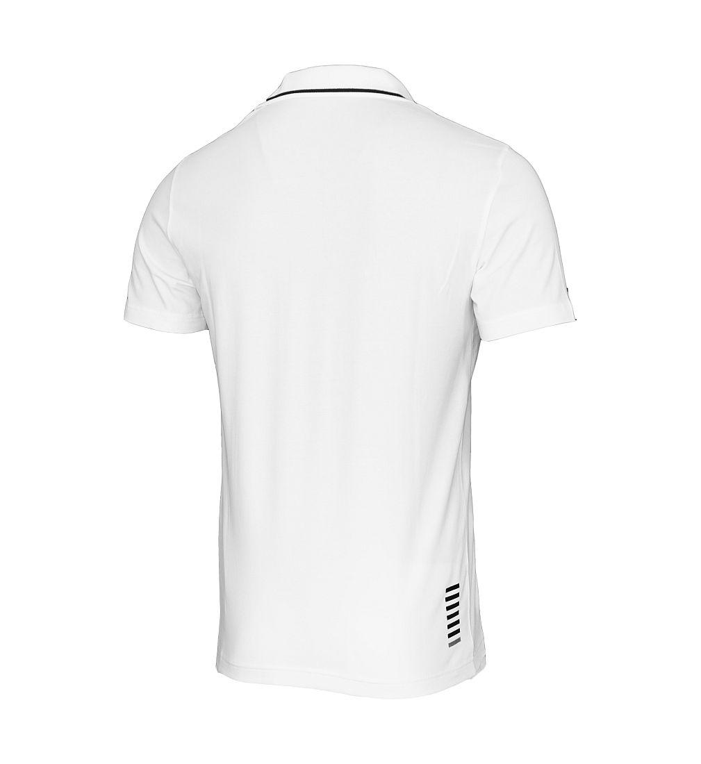 EA7 EMPORIO ARMANI Shirt T-Shirt Poloshirt 6XPF51 PJ03Z 1100 bianco HW16