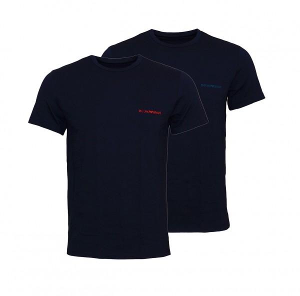 Emporio Armani 2er Pack T-Shirt Crew-Neck 111267 9A717 27435 navy SH19-EAX1