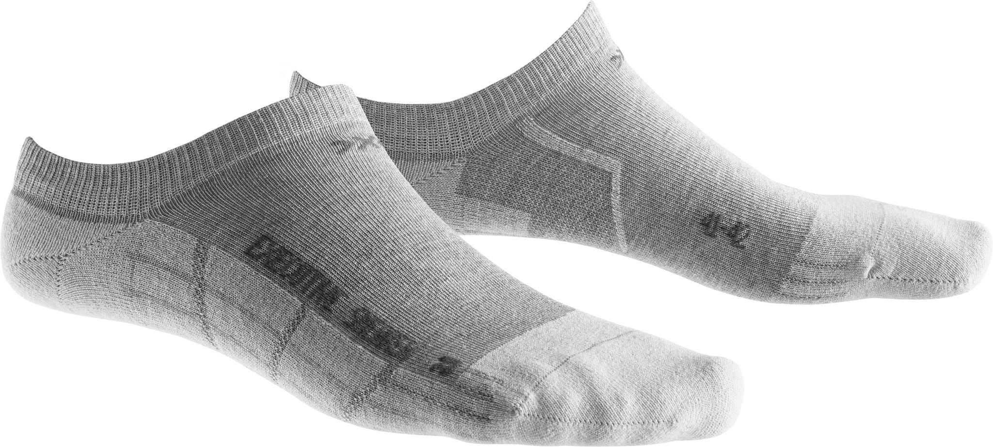 X-SOCKS Socken, Strümpfe Sneaker Executive Hellgrau unisex von Gr. 39 - 46 S17-XS1