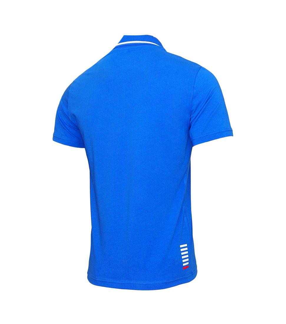 EA7 Emporio Armani POLO Poloshirt 3YPF51 PJ03Z 1598 Royal Blue blau S17-EAP1