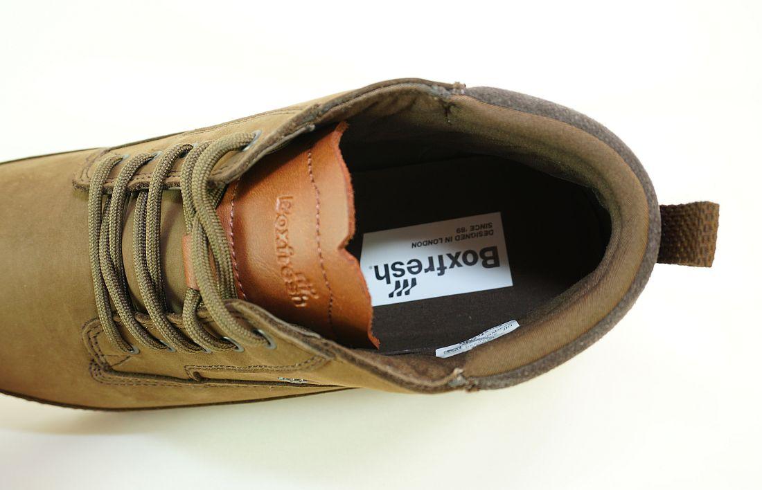 Boxfresh Schnürschuhe Schuhe Cryser UH LEA E-15237 FGO Winterschuh SH17-BFS1
