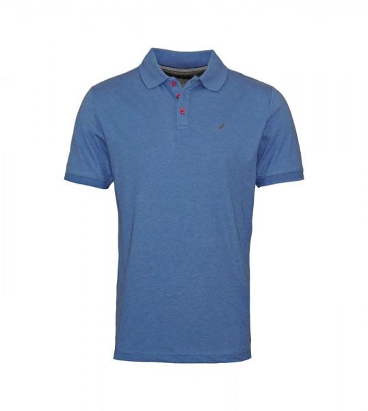 Daniel Hechter Poloshirt Polo Jersey 75016 101915 660 blue WF20-DHP1