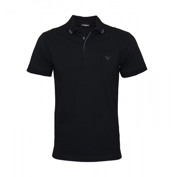 Emporio Armani Polo Poloshirt 211804 9P461 00020 black WF19-EAP1