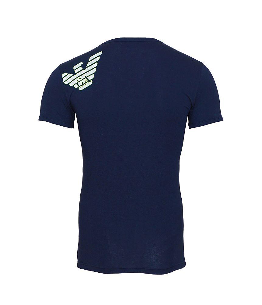 EMPORIO ARMANI T-Shirt Shirt navy 110810 6A725 00135 Marine HW16-EA-1